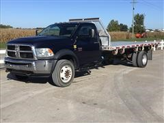 2012 Dodge Ram 5500 Heavy Duty Flatbed Truck
