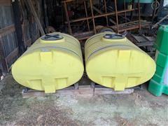 2012 Sheppard 300-Gallon Oval Spray Tanks