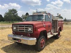 1977 GMC Sierra 5000 4x4 Fire Truck
