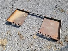 Universal Skid Steer Mounting Plate