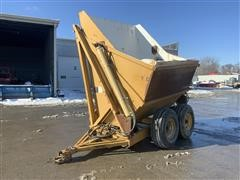 T/A High Lift Side Dump Gondola Wagon