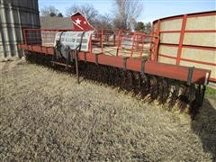 M&W 1821 21' 3-Pt Mounted Rotary Hoe