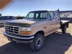 1994 Ford F250 XLT Flatbed Pickup