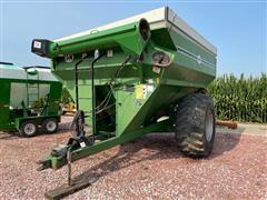 J&M 750 Grain Cart W/Scale