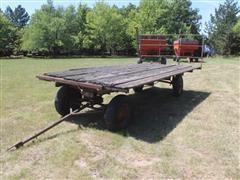 Shop Built 4 Wheel Hay Wagon