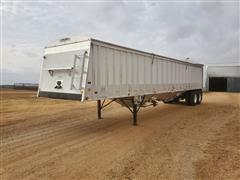 1997 Cornhusker 42' T/A Aluminum Hopper Grain Trailer