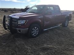 2014 Ford F150 4x4 Extended Cab Pickup