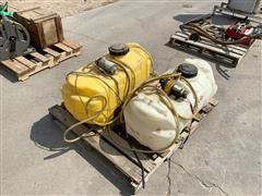 ATV Sprayer Tanks And Pumps