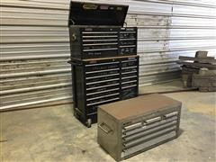 Craftsman Griplatch Upright Tool Chest W/Bench Top Tool Chest