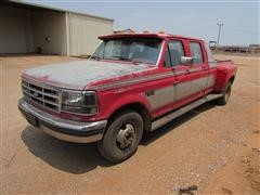 1992 Ford F350 XLT 2WD Crew Cab Dually Pickup