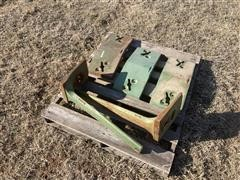 John Deere Slab Weights & Mounting Brackets