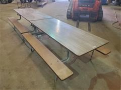 Folding Lunch Table
