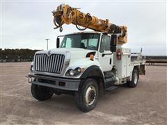 2009 International WorkStar 7300 4x4 Digger Derrick Truck