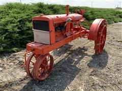 1935 Allis-Chalmers WC 2WD Antique Tractor