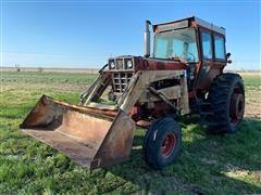 International 966 2WD Tractor