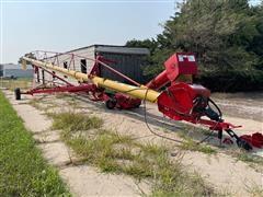 Westfield Gulp 2 MKX 130-84 Auger W/powered Swing Drive Over Conveyor