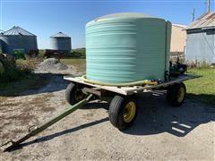 1200-Gal Water Wagon W/Pump