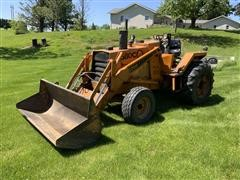 Case 580C 2WD Tractor W/ Loader