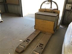 Yale Battery-Powered Pallet Jack