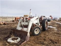 International 2WD Tractor W/Loader (INOPERABLE)
