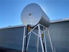 300 Gal Gravity Fuel Barrel