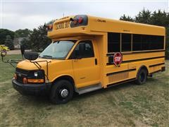 2012 Collins Chevrolet 4500 Passenger Bus