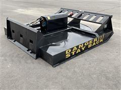 "2020 Agrotk SSRC72 72"" Brush Cutter Skid Steer Attachment"