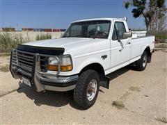 1993 Ford F250 XL 4X4 Pickup