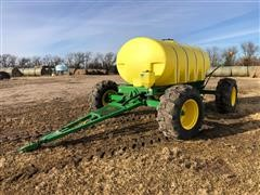 Patriot 4 Wheel Steerable Fertilizer Cart