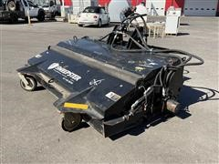 """2016 Paladin 20384M-0022 84"""" Sweepster Skid Steer Attachment"""