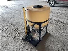 70 Gal Mixing Cone W/ Pump