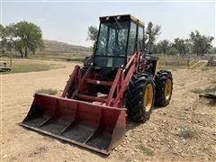 1985 Versatile 256 4WD Articulating Tractor W/Grapple Loader