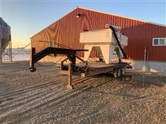 Friesen 220 Seed Tender On 1981 Keifer T/A Gooseneck Trailer