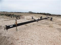 Dyck Welding 30' Header Trailer