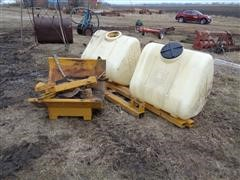 AG Chem 160 Gallon Saddle Tanks