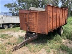 Tip Topp Box Forage/Grain Wagon