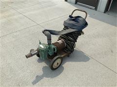 Dayton 6K249C 1HP Electric Motor W/Water Pump