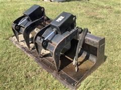 "2016 Caterpillar 217-6229 78"" Base Industrial Grapple Bucket"