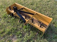 King Kutter 6' Box Scraper W/Shanks
