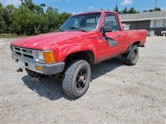 1987 Toyota RN63 STD 4x4 Pickup Truck