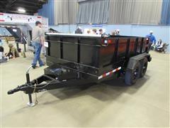 2021 Shop Built 12' Hydraulic Dump Trailer