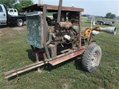 "Berkeley 3""x4"" Portable Water Pump W/Ford Power Unit"