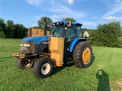 New Holland TM115 2WD Tractor W/Mounted Hydraulic Mower