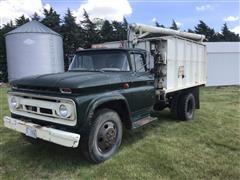 1963 Chevrolet C63 S/A Grain Truck W/Auger Box