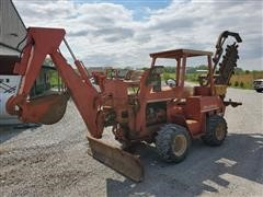 DitchWitch 5110DD 4x4 Backhoe/Trencher/Backfill Blade