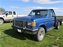 1989 Ford XLT Lariat 4x4 Regular Cab Pickup