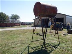 300 Gallon Fuel Tank & Stand