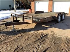 1998 Buck Dandy T/A Flatbed Car Trailer