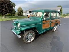 1957 Willys Beach Cruiser 4x4 Woody Station Wagon