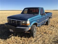 1992 Ford F250 XLT 4x4 Pickup